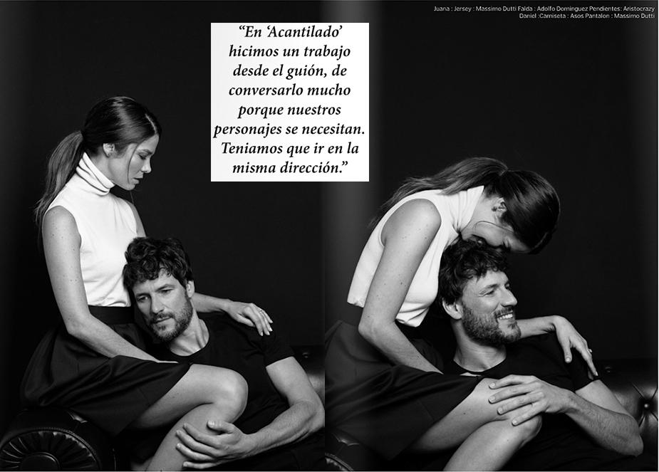 VIM Magazine Daniel Grao y Juana Acosta